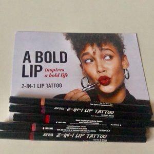Avon 2-in-1 lip tattoo,  Lip Line & Fill Duo -New!